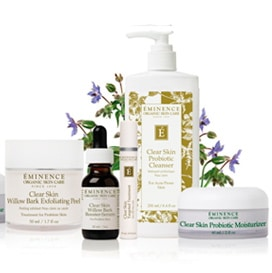 Eminence-clear-skin-products
