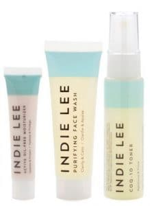 Indie Lee products for acne-prone skin