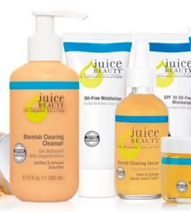 juice beauty natural skincare for acne